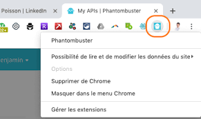 Extension Chrome phantombuster