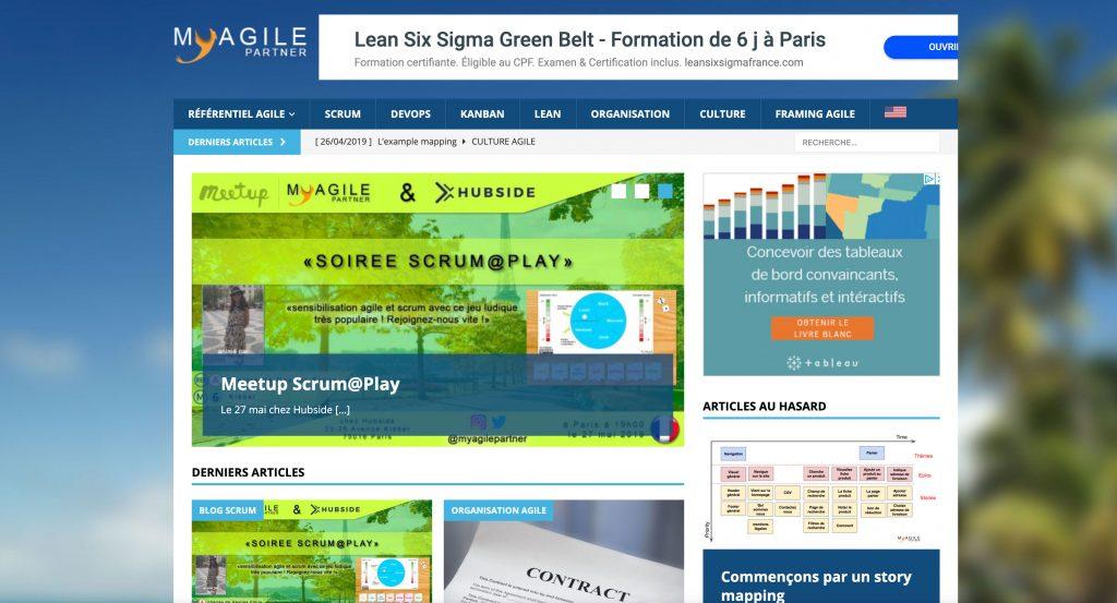 Blog coach agile