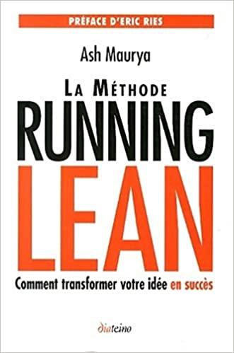 livre Erie Ries La méthode running lean